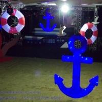 cenografia de festas, decoraçao festa nautica, decoração tema fundo do mar, decoração marinheiro
