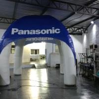 Tenda Inflável Panasonic 4X4 mts