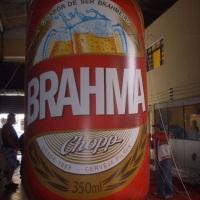 Lata Inflável Brahma 4 mts de altura