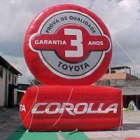 Logotipo Inflável Personalizado