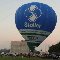 Balão de ar quente para propaganda