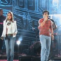 Evento com iluminação e telão p/ Maria cecília e Rodolfo