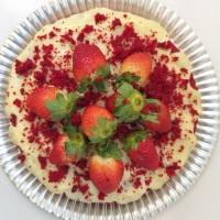 Naked Cake; Bolo Red Velvet