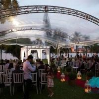 Casamento - Cobertura 10x10m - Veleiros do Sul