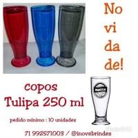 Tulipas de Chopp 250 ml  pedido minimo 5 unidades