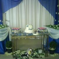 Mesa principal dos noivos