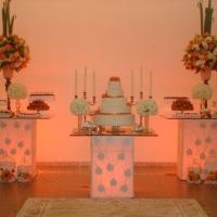 mesa decorativa para bolo
