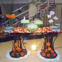 mesa decorativa para bolo / casamento
