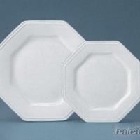 Pratos porcelana/ oitavados