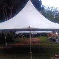 tenda 10x10 estilo circo tensionada.  100 metros quadrados.