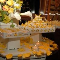 Mesa de doces e bem casados!
