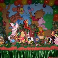mesa tematica pooh baby