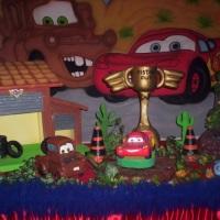 mesa tematica carros