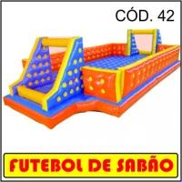 Futebol de sabão 11m x5,5m