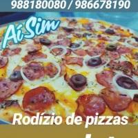 Rodízio de pizzas com vários sabores