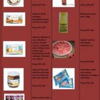 Tabela de doces Flormel