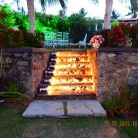 Iluminação Cênica na Escada no Espaço Casa 1