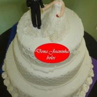 Dona Joaninha bolo de casamento I