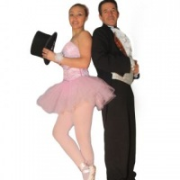 Show especial o mágico e a bailarina
