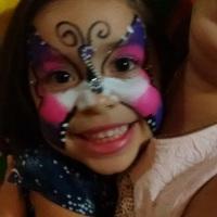 Pintura Facial + escultura de baloes, com fitas, pedrinhas, tatuagem e muito mais... R$ 199,00 Somen