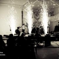 Fogos Indoor - Palco