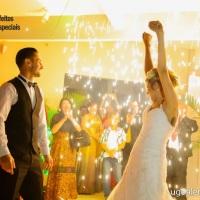Cascata de Fogos Indoor- Casamento