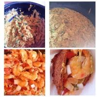 Vatapá, caruru, camarão e vinagrete = acarajé! Fotos dos nossos eventos.