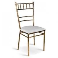 Disponivel para locação: Cadeiras em ferro capacidade de ate 200kg sentado. Cor: ouro velho e asse