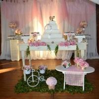 Mesas de bolo decoradas