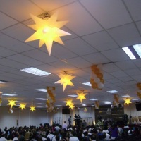 Sputiniks (estrelas, aguas vivas, sol e outros para teto) Decoração personalizada