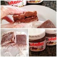 Palha italiana de Nutella.