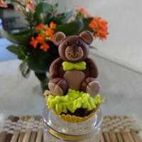 Cupcake com decoração em 3D!