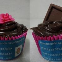 Cupcakes ganache de chocolate!