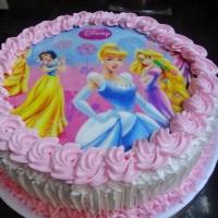 Bolo Princesas