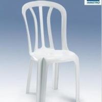 Cadeiras de pla´stico