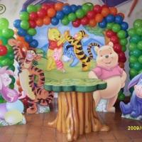 Modelo de Mesas Cenários :: Ursinho Pooh