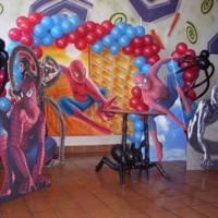 Modelo de Mesas Cenários :: Homem Aranha