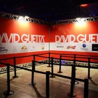 Estrutura em box truss para evento com David Guetta.