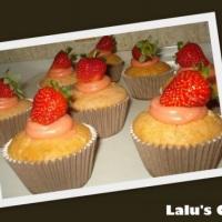 Cupcake love morango