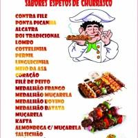 Espetinho de churrasco Sétima Festas e Eventos.