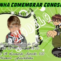 Convite Ben 10