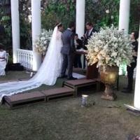 Casamento Ana Luiza e Bin no Espaço Helen Aguiar