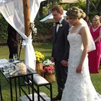 Casamento de Luiza e Manoel no Sitio Paraíso da Mata