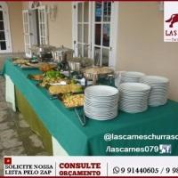 Evento de bodas realizado em casa de praia no Abaís no município de Itaporanga/SE