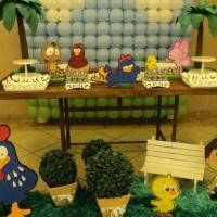 decoração provençal galinha pintadinha