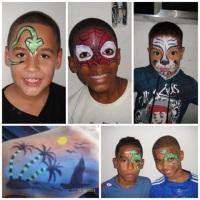Pintura Facial para Meninos