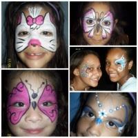 Pintura Facial para Meninas