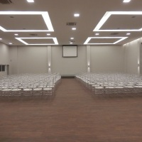 Salão para apresentações de palestras