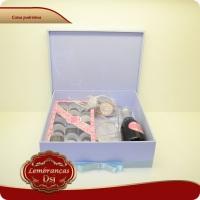 Caixa MDF forrada para Kit padrinhos