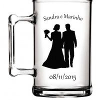 Canecas de chopp em acrílico personalizadas, ideias para lembrança de casamento, aniversário, noivad
